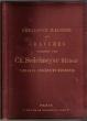 CATALOGUE ILLUSTRE DES GRAVURES PUBLIEES PAR CH. SEDELMEYER EDITEUR. Tableaux anciens et modernes. . SEDELMEYER, Ch.
