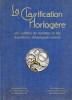 CLASSIFICATION HORLOGÈRE (LA), Des Calibres de Montres et des Fournitures d'Horlogerie suisses. JOBIN A.-F.