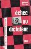 ÉCHEC AU DICTATEUR, Histoire de la Résistance Allemande. RITTER Gerhard, trad. de Jean R. Weiland