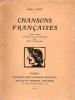 CHANSONS FRANCAISES. FORT Paul