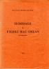 HOMMAGE A PIERRE MAC ORLAN, de l'Académie Goncourt. Collectif