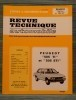 """REVUE TECHNIQUE AUTOMOBILE N° 4031 - Peugeot """"505 TI et STI. Collectif."""