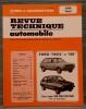 """REVUE TECHNIQUE AUTOMOBILE N° 3735 - Ford """"Fiesta"""" et """"XR2"""" (fin de fabrication). Collectif."""