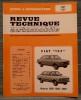 """REVUE TECHNIQUE AUTOMOBILE N° 3781 - Fiat """"132"""". Collectif."""