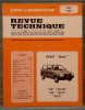 "REVUE TECHNIQUE AUTOMOBILE N° 4421 - Fiat ""Uno"". Collectif."