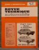 "REVUE TECHNIQUE AUTOMOBILE N° 3572 Fiat ""131"" Mirafiori et Supermirafiori. Collectif."