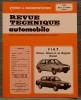 """REVUE TECHNIQUE AUTOMOBILE N° 4213 - Fiat """"Ritmo"""" et """"Regata"""" diesel. Collectif."""