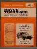 "REVUE TECHNIQUE AUTOMOBILE N° 4051 - Opel ""Kadett"" D. Collectif."