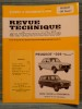 "REVUE TECHNIQUE AUTOMOBILE N° 2983 - Peugeot ""204"" diesel. Collectif."
