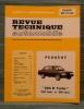 """REVUE TECHNIQUE AUTOMOBILE N° 4112 - Peugeot """"604 D Turbo"""". Collectif."""