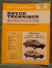 """REVUE TECHNIQUE AUTOMOBILE N° 3613 - Peugeot """"604"""" """"504 V 6"""". Collectif."""