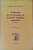 RECHERCHES SUR LA FORMATION DE LA GRANDE ENTREPRISE CAPITALISTE (1815-1848). GILLE, Bertrand.