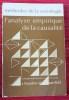L'ANALYSE EMPIRIQUE DE LA CAUSALITÉ. BOUDON, Raymond et LAZARSFELD, Paul.