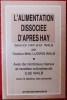 L'ALIMENTATION DISSOCIÉE D'APRÈS HAY. WALB, Ludwig.