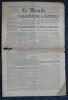 LE MONDE N° 120 - Mardi 8 mai 1945 ~ L'Allemagne a capitulé.. Collectif