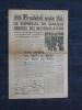 FRANCE-SOIR N° 215 - Samedi 3 mars 1945 - Le Général de Gaulle annonce des nationalisations.. Collectif