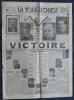 LA VOIX DE L'OUEST N° 165 - Mardi 8 mai 1945 - Victoire.. Collectif