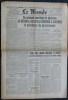 LE MONDE N° 286 - Samedi 17 novembre 1945 - Ne pouvant constituer le général de Gaulle renonce à assumer la présidence du gouvernement.. Collectif