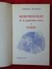 MORPHOLOGIE DE LA POPULATION ACTIVE À PARIS. BELLEVILLE, Germaine.