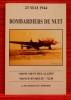 BOMBARDIERS DE NUIT  23 mai 1944 : monument des alliés, Moncé-en-Belin, 72230. POIGNANT-FORTIER, J.-TH.