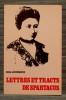 LETTRES ET TRACTS DE SPARTACUS. LUXEMBOURG, Rosa.