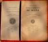 TABLE DES MATIÈRES CONTENUES DANS LES 40 PREMIERS VOLUMES DE LA REVUE HISTORIQUE ET ARCHÉOLOGIQUE DU MAINE. SOCIÉTÉ HISTORIQUE ET ARCHÉOLOGIQUE DU ...