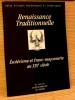 RENAISSANCE TRADITIONNELLE  n° 143-144 juillet-octobre 2005. Collectif