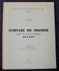 INVENTAIRE DES MOSAÏQUES Feuille n° 57 de l'atlas archéologique SOUSSE. FOUCHER, Louis