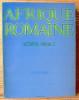 AFRIQUE ROMAINE SCRIPTA VARIA I Études épigraphiques. PFLAUM, Hans-Georg