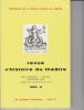 REVUE D'HISTOIRE DU THÉÂTRE • Numéro 142 Tricentenaire de la mort de Pierre Corneille. Société d'histoire du théâtre