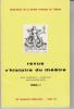 REVUE D'HISTOIRE DU THÉÂTRE • Numéro 125. Société d'histoire du théâtre