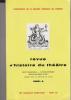 Revue d'Histoire du Théâtre • Numéro 136 Numéro bibliographique. Société d'histoire du théâtre