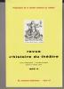 Revue d'Histoire du Théâtre • Numéro 124 Numéro bibliographique. Société d'histoire du théâtre
