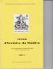 Revue d'Histoire du Théâtre • Numéro 232. Société d'histoire du théâtre