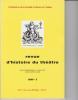 Revue d'Histoire du Théâtre • Numéro 238. Société d'histoire du théâtre