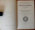 Actus pontificum Cenomannis in urbe degentium  publ. par l'abbé G. Busson et l'abbé A. Ledru ; avec une table alphabétique des noms dressée par Eugène ...
