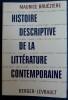 HISTOIRE DESCRIPTIVE DE LA LITTÉRATURE CONTEMPORAINE. BRUÉZIÈRE, Maurice