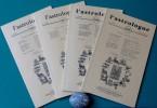 L'ASTROLOGUE 27ème année N° 105, 106, 107, 108. Centre international d'astrologie