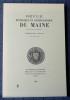 REVUE HISTORIQUE ET ARCHÉOLOGIQUE DU MAINE - Troisième série - Tome 8 - 1988. Société historique et archéologique du Maine