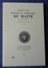 REVUE HISTORIQUE ET ARCHÉOLOGIQUE DU MAINE - Troisième série - Tome 10 - 1990. Société historique et archéologique du Maine