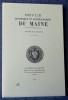 REVUE HISTORIQUE ET ARCHÉOLOGIQUE DU MAINE - Troisième série - Tome 11 - 1991. Société historique et archéologique du Maine
