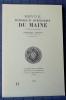 REVUE HISTORIQUE ET ARCHÉOLOGIQUE DU MAINE - Troisième série - Tome 13 - 1993. Société historique et archéologique du Maine
