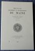 REVUE HISTORIQUE ET ARCHÉOLOGIQUE DU MAINE - Quatrième série - Tome 7 - 2007. Société historique et archéologique du Maine
