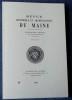 REVUE HISTORIQUE ET ARCHÉOLOGIQUE DU MAINE - Quatrième série - Tome 9 - 2009. Société historique et archéologique du Maine