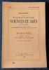 Bulletin de la société d'agriculture sciences et arts de la  Sarthe N° 439, numéro spécial 1969 - IVe série Tome VII. Société d'agriculture, sciences ...
