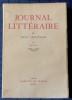JOURNAL LITTÉRAIRE Tome II 1907-1909. LÉAUTAUD, Paul