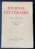 JOURNAL LITTÉRAIRE Tome V  Janvier 1925 - Juin 1927. LÉAUTAUD, Paul