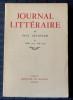 JOURNAL LITTÉRAIRE Tome VI  Juillet 1927 - Juin 1928. LÉAUTAUD, Paul