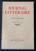 JOURNAL LITTÉRAIRE Tome IX  Mai 1931 - Octobre 1932. LÉAUTAUD, Paul
