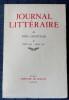 JOURNAL LITTÉRAIRE Tome X  Octobre 1932 - Janvier 1935. LÉAUTAUD, Paul